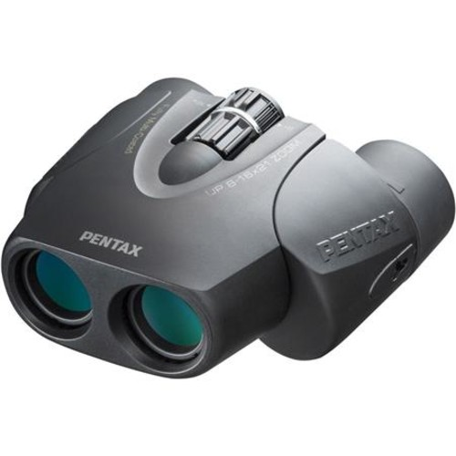 PENTAX UP 8-16x21 Zoom Binoculars - Black