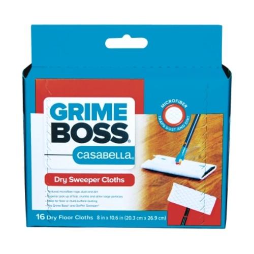 Grime Boss Casabella Microfiber Cleaning Cloth 8 in. W x 10.6 in. L 16 pk(G205D16)