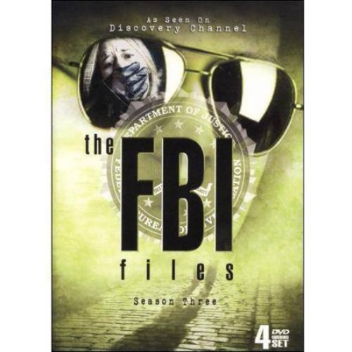 The FBI Files: Season Three [4 Discs] [DVD]