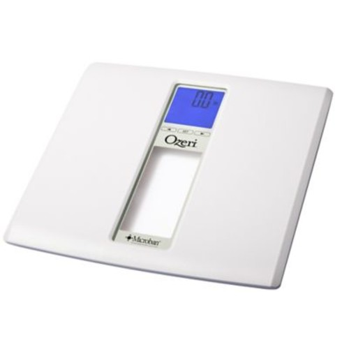 Ozeri WeightMaster II 440 lbs Digital Bath Scale w/ BMI and Weight Change Detection; White