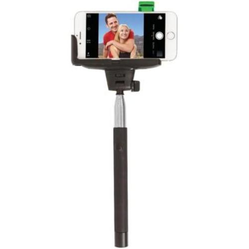 Retrak iPhone 4/5/5s/6 4.7 in./6s and Samsung Galaxy S Iii/4 Selfie Stick with Bluetooth Shutter