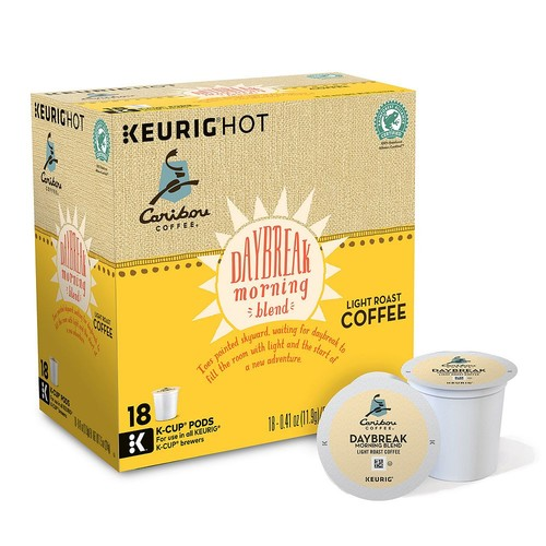 Keurig - Caribou Daybreak Morning Blend K-Cup Pods (108-Pack)