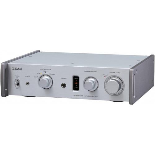 Teac HA-501-B Dual Monaural Headphone Amplifier (Silver)
