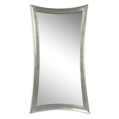 Rectangle Decorative Wall Mirror Light Silver - Bassett Mirror Cmpny