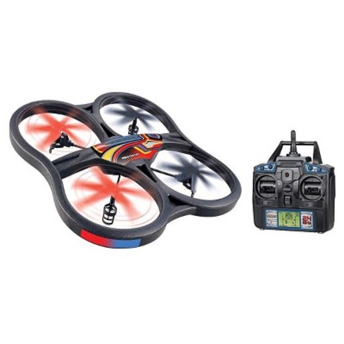 World Tech Toys Panther Spy Drone UFO 4.5CH 2.4GHz RC Quadcopter with Video Camera 35879