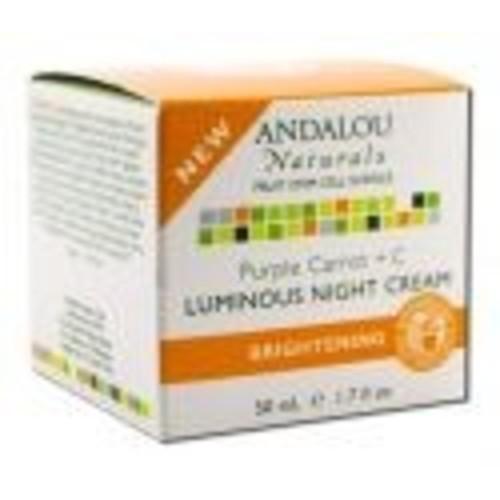 Andalou Naturals Purple Carrot Luminous Night Cream 1.7 ounces