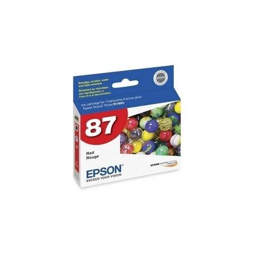 Epson UltraChrome Hi-Gloss 2 Pigment Red Ink Cartridge T087720