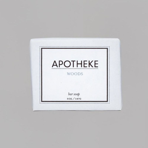 Woods Bar Soap design by Apotheke