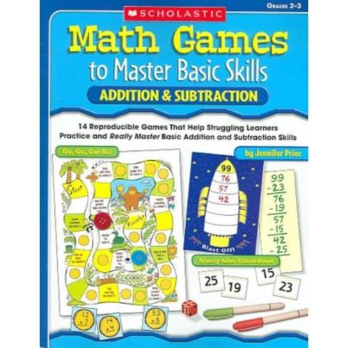 Math Games to Master Basic Skills Jennifer Prior Paperback