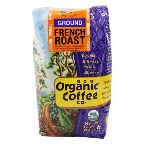 Organic Coffee Company - Ground Coffee French Roast - 12 oz.