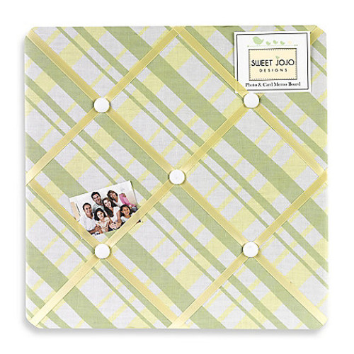Sweet Jojo Designs Leap Frog Fabric Memo Board