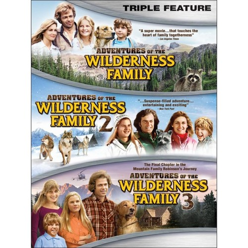 Adventures of the Wilderness Family Triple Feature [DVD]
