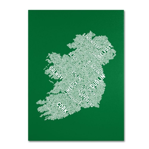 Trademark Fine Art 'Ireland IX' 30