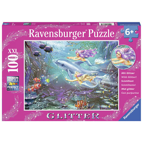 Ravensburger Little Mermaids Jigsaw Puzzle - 100-Piece