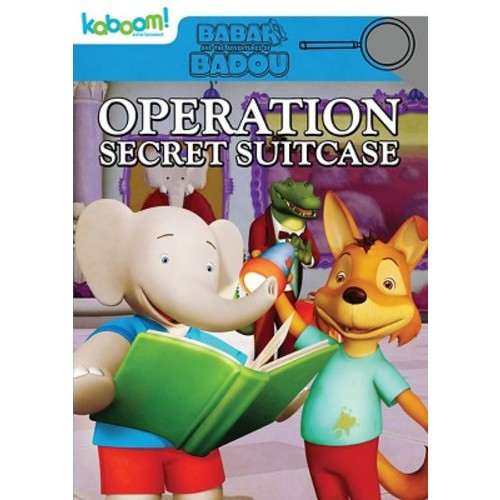 Babar and the Adventures of Badou: Operation Secret Suitcase (dvd_video)