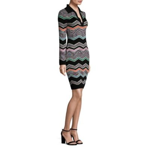 MISSONI Wool Polo Dress