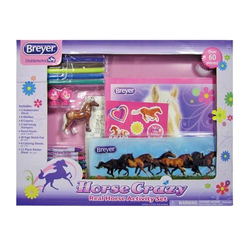 Horse Crazy Real Horse Activity Set by Breyer
