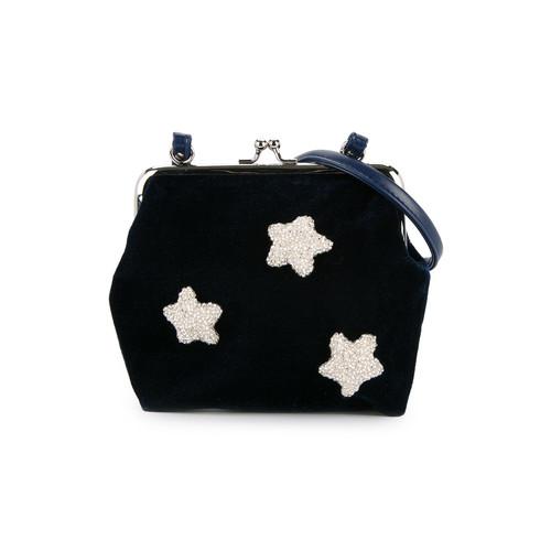 sequin star detail shoulder bag