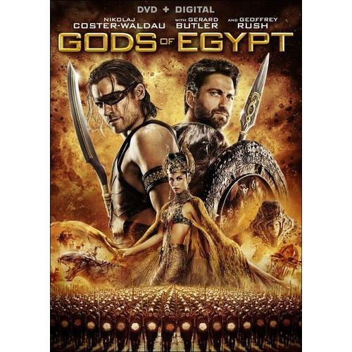 Gods of Egypt [DVD] [2016]
