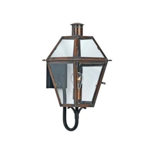 Quoizel RO8410 Aged Copper Wall Lantern