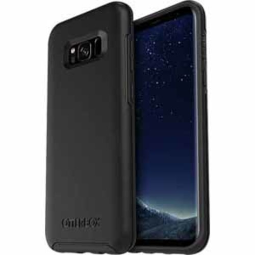 Otterbox Symmetry Clear Confidence Case for Samsung Galaxy S8 Plus - Black