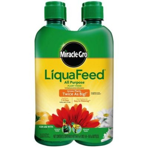 Miracle-Gro LiquaFeed 16 oz. All-Purpose Plant Food Refills (4-Pack)
