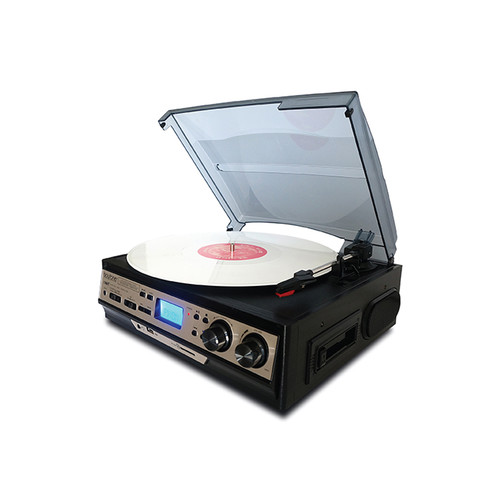Boytone 97096690M Home 3 Speed Stereo Turntable System with LCD Display