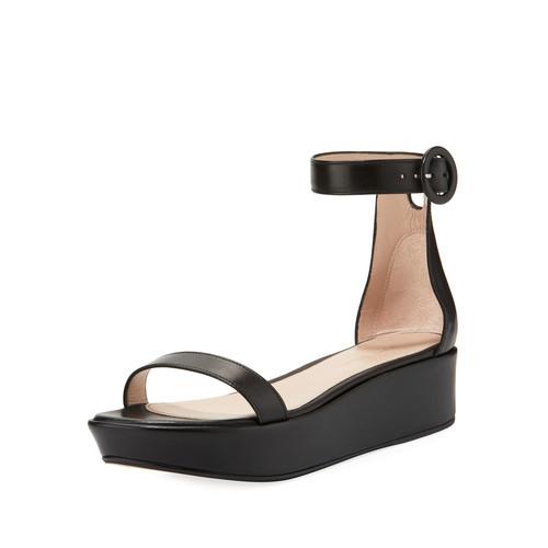 Capri Wedge Platform Sandal
