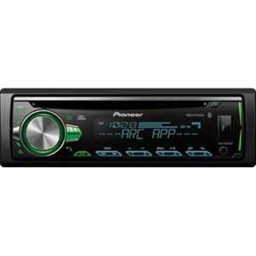 Pioneer CD Receiver with Built-in Bluetooth, and Color Customization