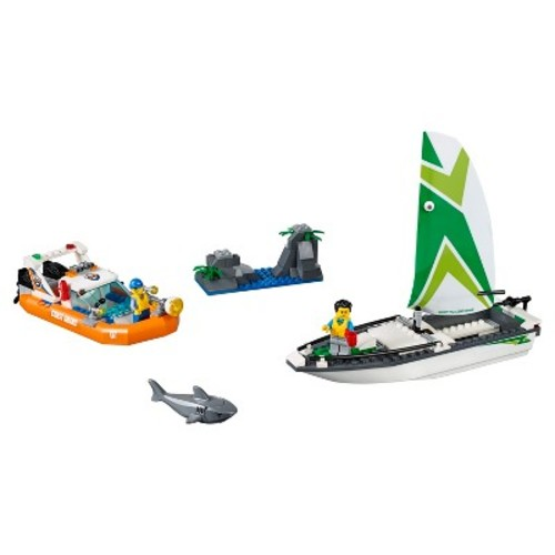 LEGO Coast Guard Sailboat Rescue 60168