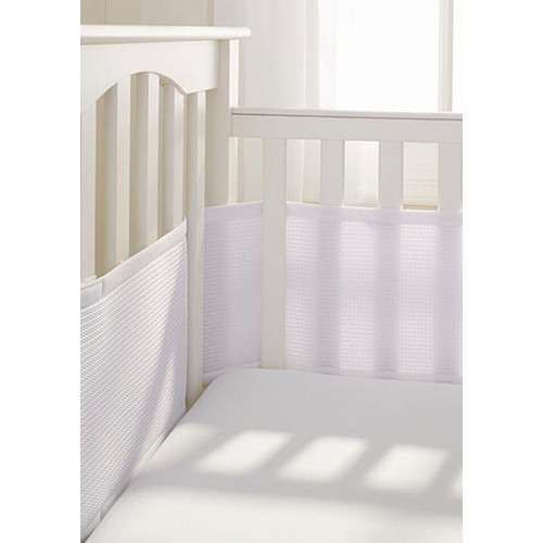 BreathableBaby Deluxe Cable Weave Mesh Crib Liner