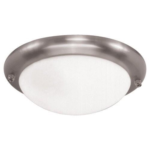 Sea Gull Lighting 16148BL-962 1 Light Ceiling Fan Light Kit, Brushed Nickel [Brushed Nickel]
