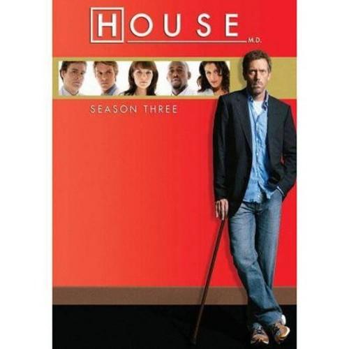 House:Season three (DVD)