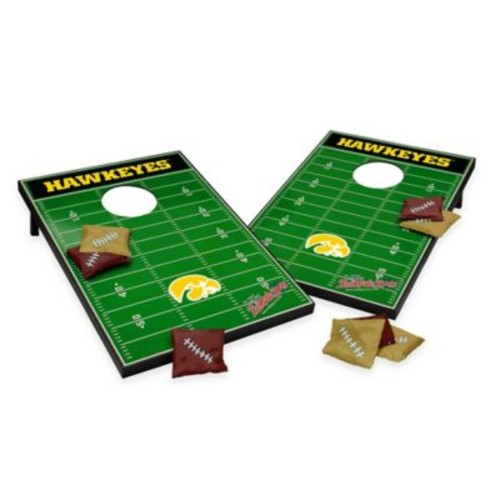 NCAA University of Iowa Field Tailgate Toss Cornhole Game