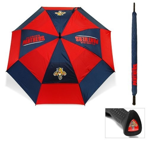Team Golf Florida Panthers 62 Double Canopy Umbrella