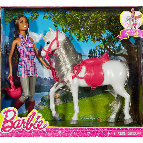 Barbie Doll and Horse Playset