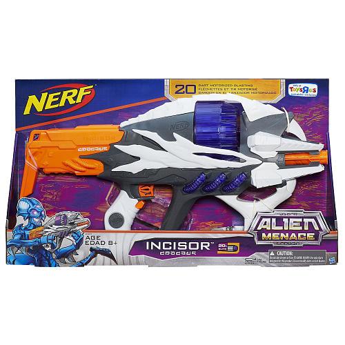 NERF Alien Menace Incisor Blaster