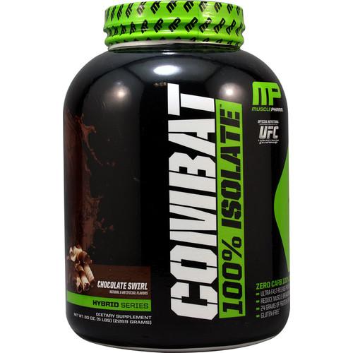Muscle Pharm Combat 100% Isolate Chocolate Milk -- 5 lbs