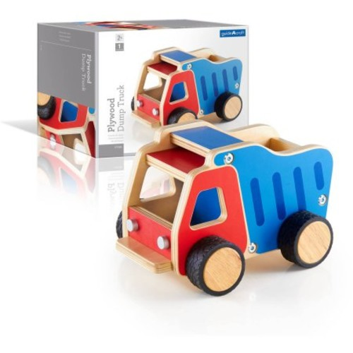 Guidecraft Plywood Dump Truck