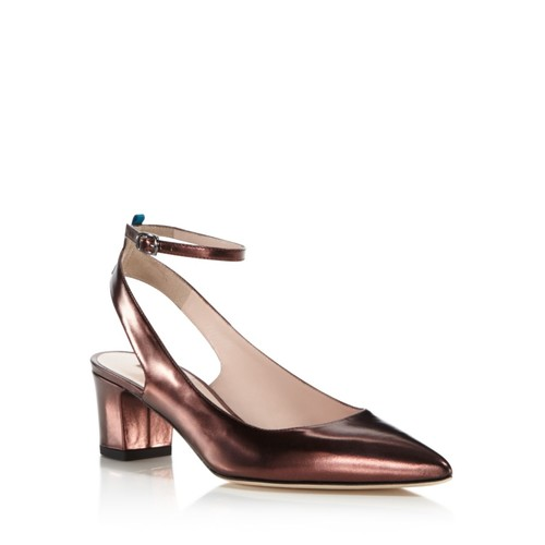 SJP BY SARAH JESSICA PARKER Maya Patent Leather Ankle Strap Pumps - 100% Exclusive