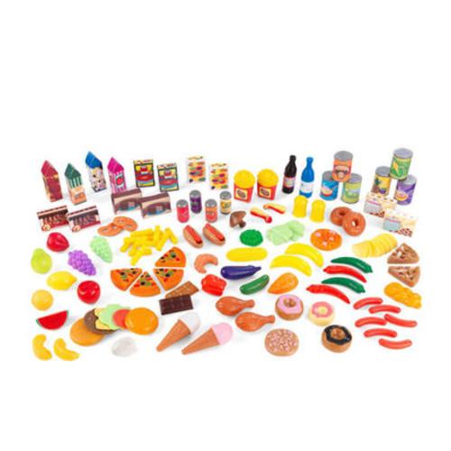 KidKraft Tasty Treats 125-Piece Play Food Set