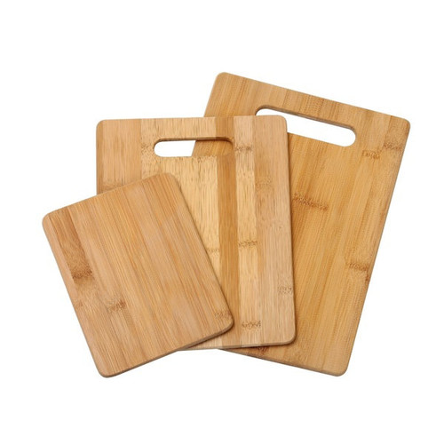 YBM Home 3-piece Bamboo Cutting Board Set