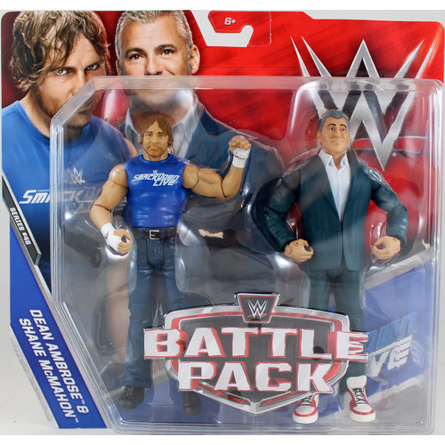 WWE Shane McMahon & Dean Ambrose - Battle Packs 46 Toy Wrestling Action Figures