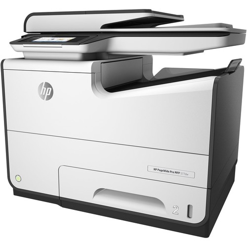 HP - PageWide Pro 577dw Wireless All-In-One Printer - White