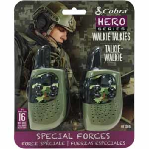 Cobra Hero Series Walkie Talkies (2-pk)