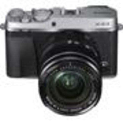 Fujifilm X-E3 Kit (Silver) 24.3-megapixel APS-C sensor mirrorless camera with 18-55mm zoom lens, Wi-Fi, and Bluetooth