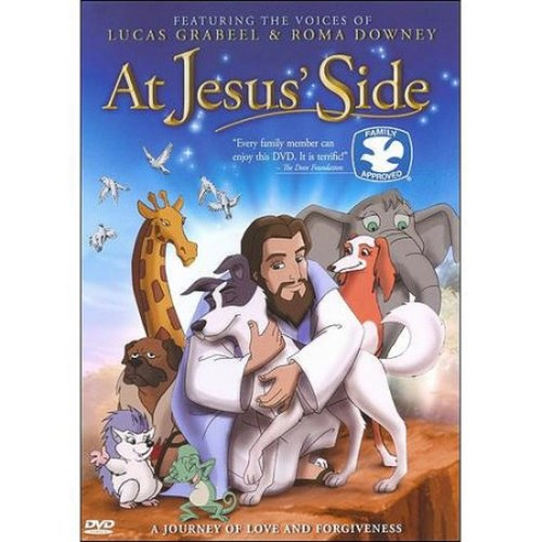 At Jesus' Side: Roma Downey, Lucas Grabeel, William R. Kowalchuk: Movies & TV