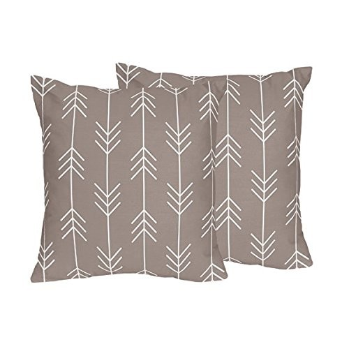 Sweet Jojo Designs Decorative Accent Throw Pillows for the Outdoor Adventure Collection by