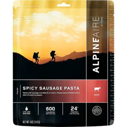 AlpineAire Foods Spicy Sausage Pasta  Two Servings