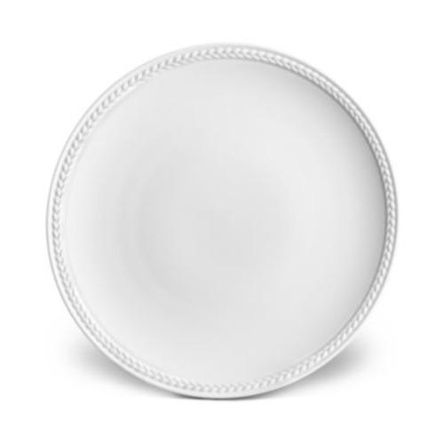 Soie Tresse White Bread & Butter Plate